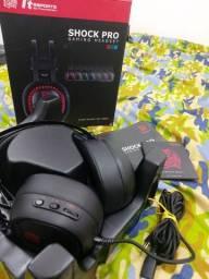 Headset gamer shock pro rgb tt esports