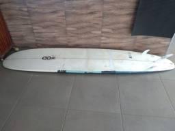 Longboard + quilhas + lash
