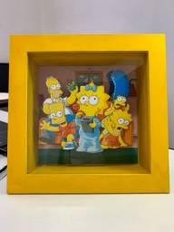 Shadow Box Os Simpsons