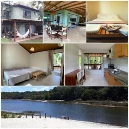 Casa na Reserva Sapiranga à beira da Lagoa de Aruá - Harmonia total com a natureza!