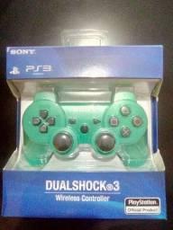 Título do anúncio: Controle de Playstation 3 novo lacrado