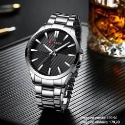 Relógio Masculino Original Curren Luxo de Alta Qualidade