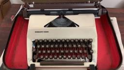 Máquina de escrever Facit 1620 + maleta