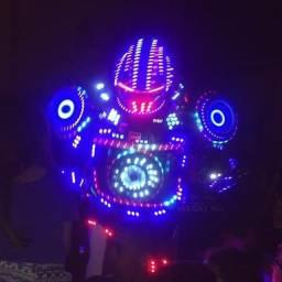 Megatron Robotron de led