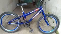bicicleta aro 20 semi-nova para crianças
