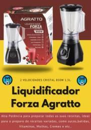 Liquidificador Forza 2 Velocidades Cristal 850w 1,5l Agratto