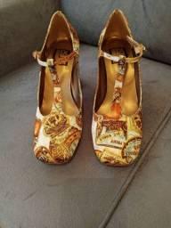 Sapato Estampa Vintage Louloux