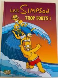 Livro Francês - Les Simpson - Trop Forts !