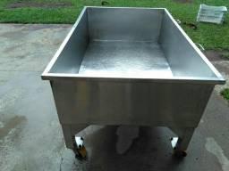 tanque de lavagem em inox 304s