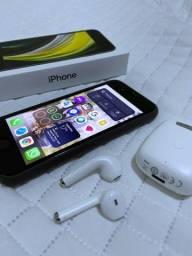 iPhone SE 2020 128Gb + Fones sem fio