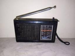 Rádio motobras três faixas antigo