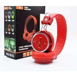 Fone de ouvido Bluetooth FM SD P2 Novo