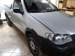 Fiat strada cs 2009. Faço 13.900