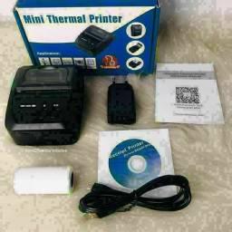 Mini Impressora Térmica Bluetooth 58mm<br>