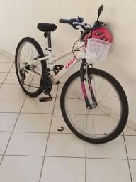 Bicicleta Caloi Ceci aro 24 pouco usada