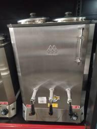 cafeteira profissional 2 reservatórios  10 litros cada pronta entrega *douglas