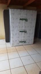 Cama box *casal* 10 cm de espuma