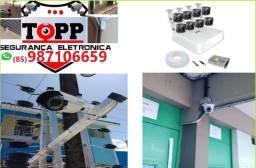 Câmeras de Segurança a partir de R$1399,99 instaladas!