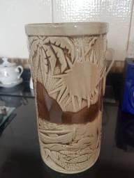 Vaso de porcelana Monte Sião 3d