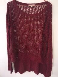Blusa Vermelha Tamanho P