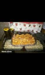 Nhoque de abóbora, batata doce e batata inglesa