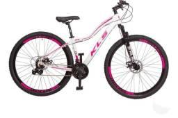 Bicicleta Aro 29 Kls Feminina Alumínio Freio À Disco