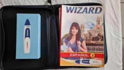 Wizard Pen e Livro Espanhol 2
