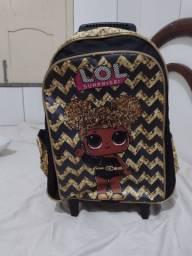 Kit escolar mochila e lancheira