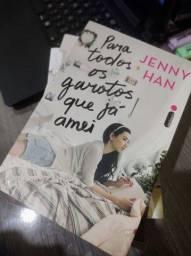 "Trilogia ""Para todos os garotos que já amei"" -  Jenny Han"