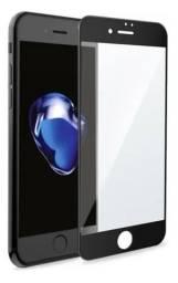 Película de vidro temperado 3D iPhone 6 7 8 e Se