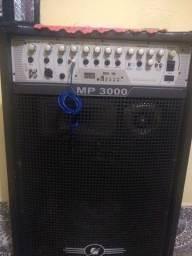 Caixa de  amplificada MP 3000 FRAHM