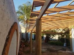 Telhados decks e pergolados