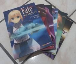 Mangás - Fate Stay Night do 01 ao 11 (Praticamente novo)