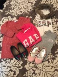Combo roupas inverno menina
