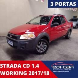 Strada 1.4 cabine dupla work. Ano 2017/2081