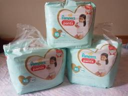 Fralda Pampers Premium Care - Tipo Pants - XG