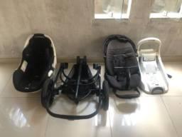 Carrinho e bebê conforto máxi cosi