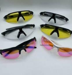 Óculos ciclista vários modelos visão noturna e diurna