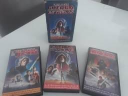 Trilogia Guerra nas Estrelas VHS