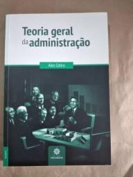 Livro - Teoria geral da administração<br><br>