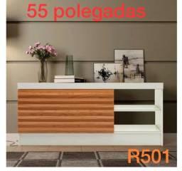 Imperdível rack lindo para TVs até 80 polegadas
