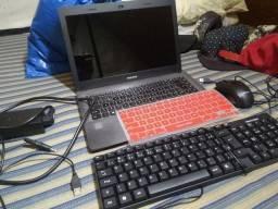 Notebook ZERADO, só usar, nenhum defeito