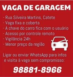 ALUGA-SE VAGA DE GARAGEM