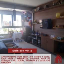 edf vitta, nascente, área de lazer, 3/4 sendo 1 suíte