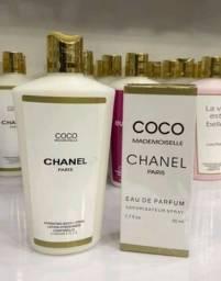 Kit  Perfume e Creme Hidratante  Contratipo.