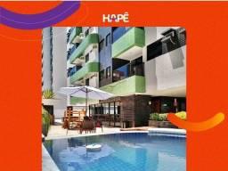 Apartamento com 02 quartos sendo 01 suíte e área útil de 66m² na Ponta Verde