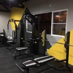 Monte sua academia ou estúdio com equipamentos profissionais
