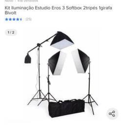 Vende-se kit iluminação greika pouco uso