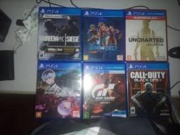 Vendo jogos de PS4 mínimo 49 reais