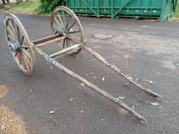 Rodas de carroça antiga